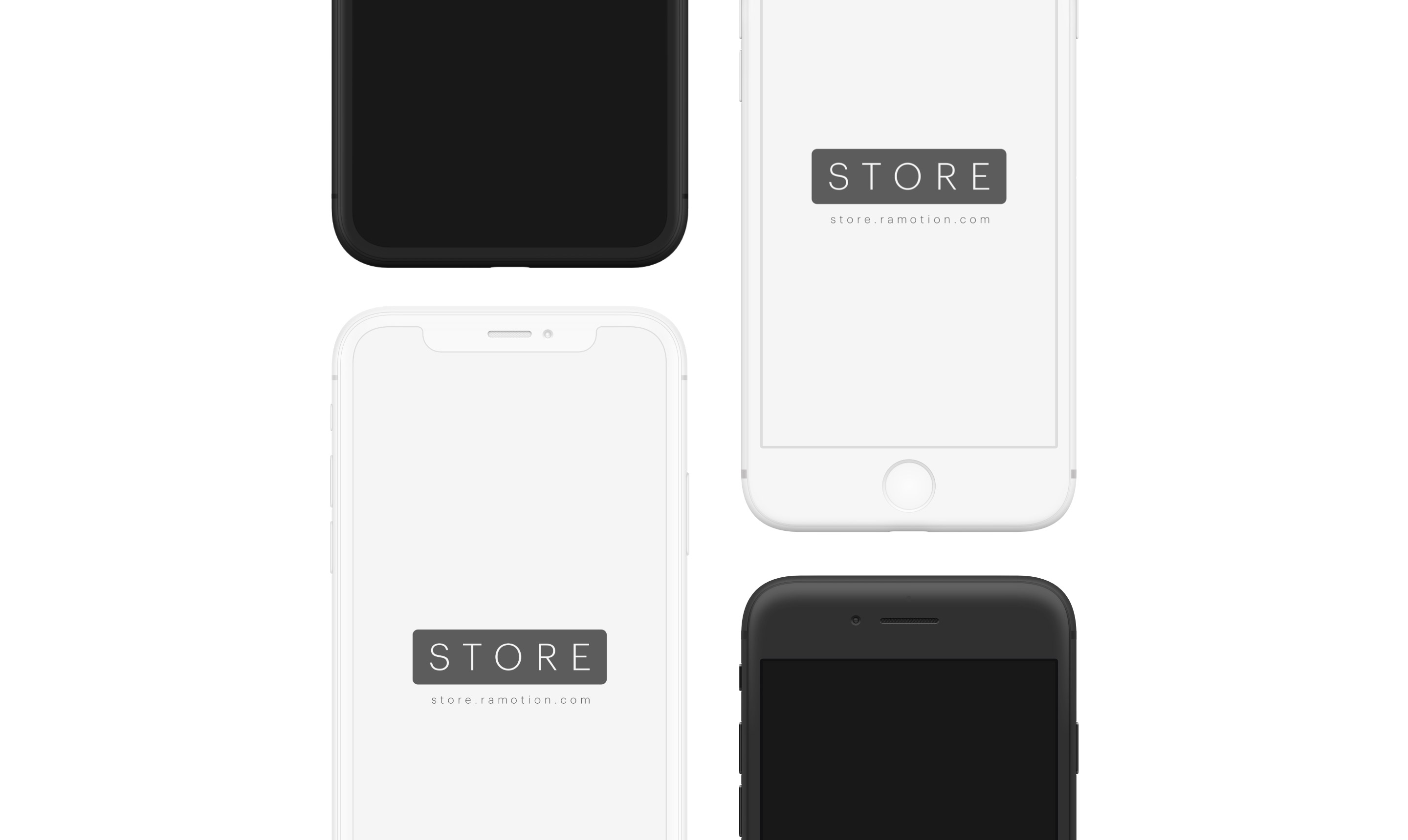 iphone-clay-white-black-frontal-psd-2