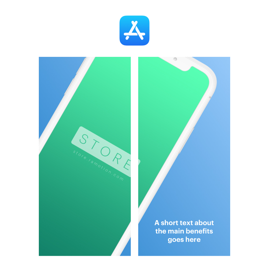App Store Screenshots for Sketch