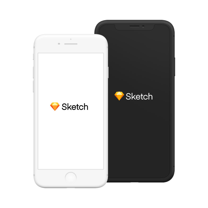 iPhone Mockups Sketch