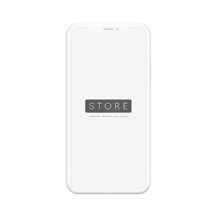 iphone x mockup clay frontal white